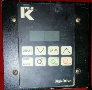 K-Tron Digi Drive Part # 2403-607100-B, 115V AC, 800W Controller for Sale in Atlanta, GA