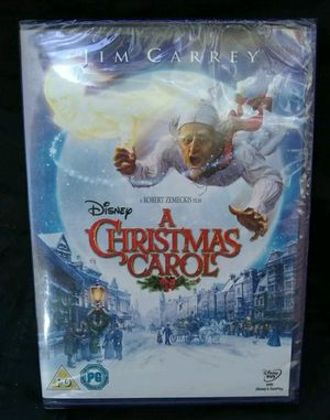 A Christmas Carol - Jim Carrey (New) DVD for Sale in Queens, NY