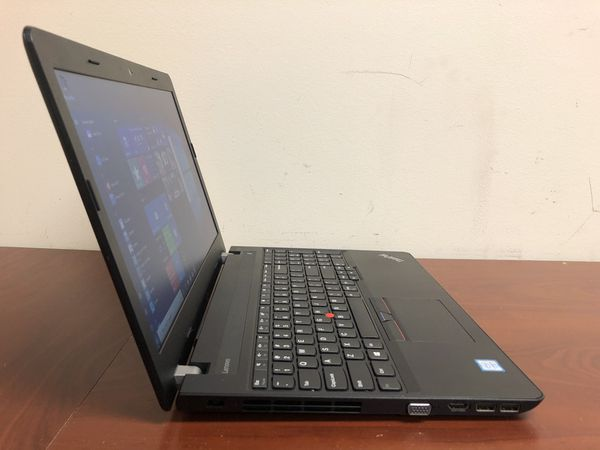 Lenovo E570 7th Gen. i3 Laptop 4GB DDR4 500GB Office HDMI
