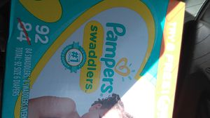 Pampers size 5 Cruisers/ 6 Swaddlers NEW BOXES for Sale in Oceanside, CA