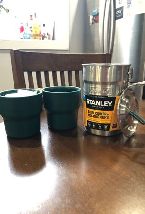 Camping cooking pot and cups for Sale in Philadelphia, PA