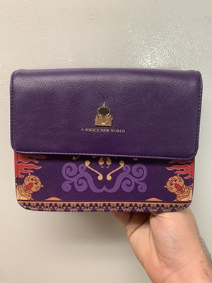 Disney Aladdin Loungefly Cross Body Bag perfect condition for Sale in Riverside, CA