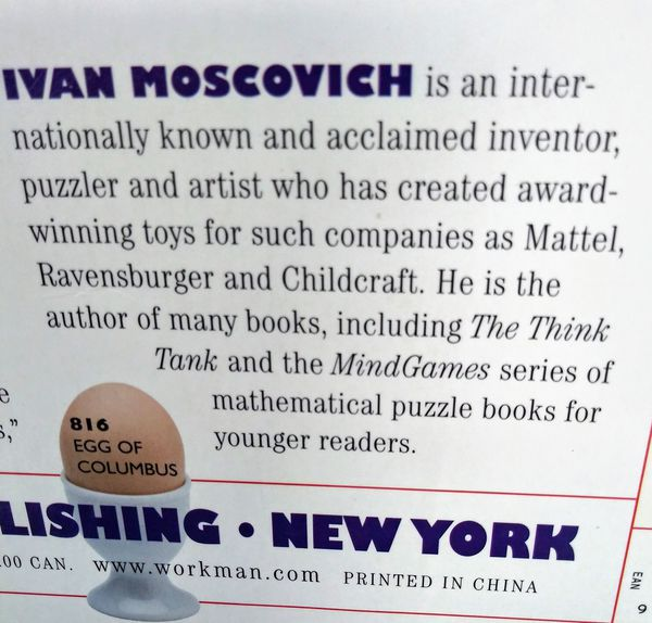 1000 PLAY THINGS BY IVAN MOSCOVICH