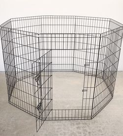 """(NEW) $45 Foldable 42"""" Tall x 24"""" Wide x 8-Panel Pet Playpen Dog Crate Metal Fence Exercise Cage Play Pen for Sale in Pico Rivera,  CA"""