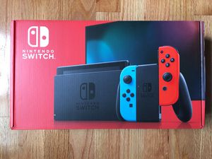 NINTENDO SWITCH V2. NEON RED&BLUE. BRAND NEW. for Sale in Elk Grove, CA
