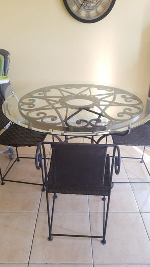 Glass table for Sale in Sun City, AZ