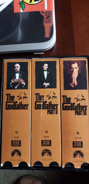 The Godfather VHS Set for Sale in Los Osos, CA
