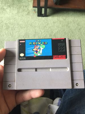 Original super mario nintendo for Sale in Norwich, CT