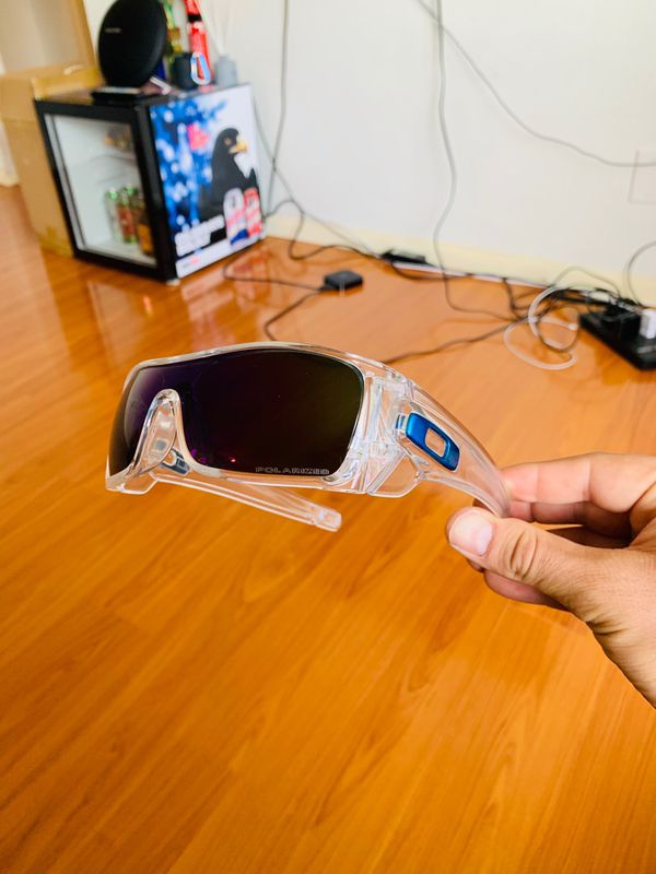 New Polarized Oakley BATWOLF With Original Packaging
