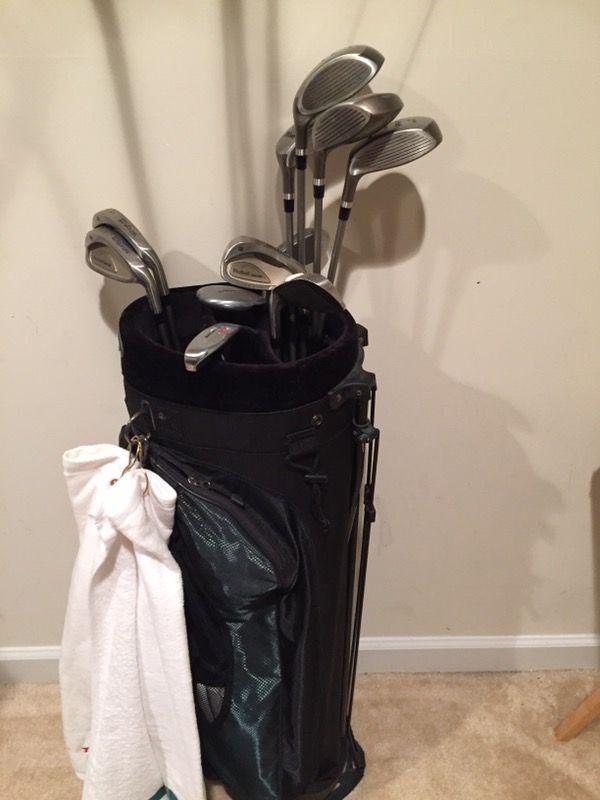 Wilson women's complete golf club set