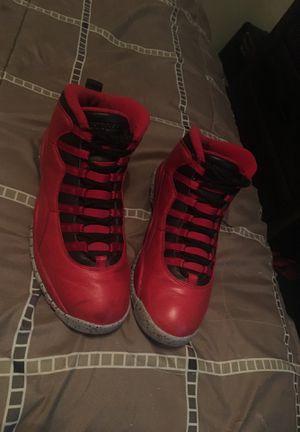 Bulls over Broadway Jordan 10s for Sale in Fresno, CA