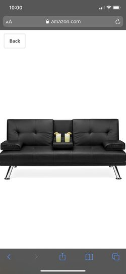 Black Futon for Sale in St. Louis,  MO