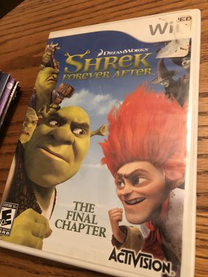 Shrek forever after for WII for Sale in Concord, NC