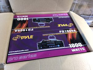 Brand new Pyle amplifier 1000 watts (Amp) for Sale in Las Vegas, NV