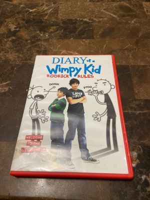 Diary of a wimpy kid dvd for Sale in Pembroke Pines, FL