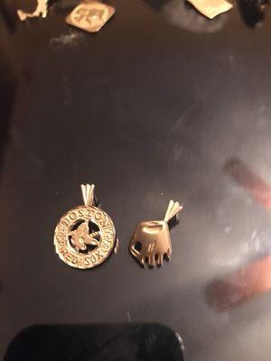 Mitt and red Sox charm for Sale in Medford, MA