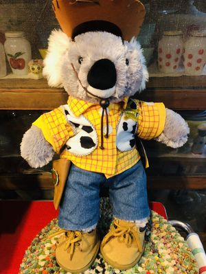 "Build A Bear Koala Bear Plush Stuffed Animal Toy Story Outfit Woody 18"" BABW for Sale in Rancho Cucamonga, CA"