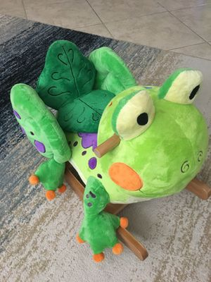 Kids Frog Rocker Rocking Chair SuperClean for Sale in Pflugerville, TX