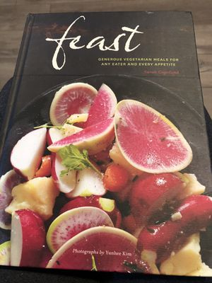 NEW - never used. Feast Vegetarian Cookbook for Sale in Murfreesboro, TN