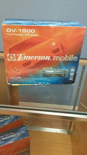Emerson mobile Dv1500 12v portable Dvd player for Sale in Tacoma, WA