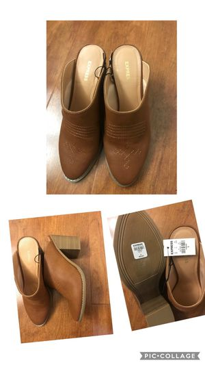 Brand new express Western Heeled Mules size 8 (pick up only) for Sale in Franconia, VA