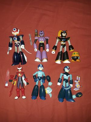 Megaman anniversary figure lot for Sale in The Bronx, NY