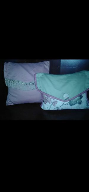 2 Homemade Deco Pillows for Sale in Port St. Lucie, FL
