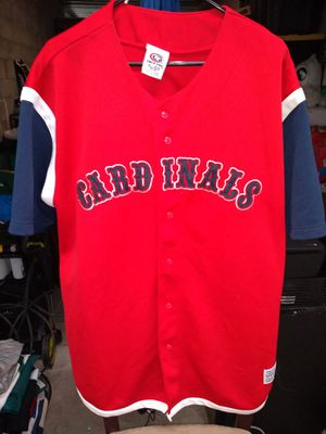 Men's True Fan Cardinals Baseball Jersey Size XL for Sale in Portland, OR