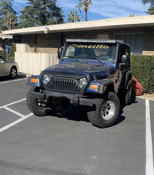 2003 Jeep Wrangler trade for Sale in Chino, CA