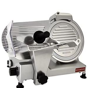 """**** BESWOOD 10"""" Premium Chromium-plated Carbon Steel Blade Electric Deli Meat Cheese Food Slicer Commercial and for Home use 240W BESWOOD250**** for Sale in Miami, FL"""