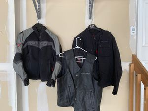 Victory motorcycle jackets and vest for Sale in Aurora, CO
