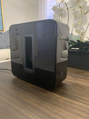 Sonos Sub Black for Sale in Hialeah, FL