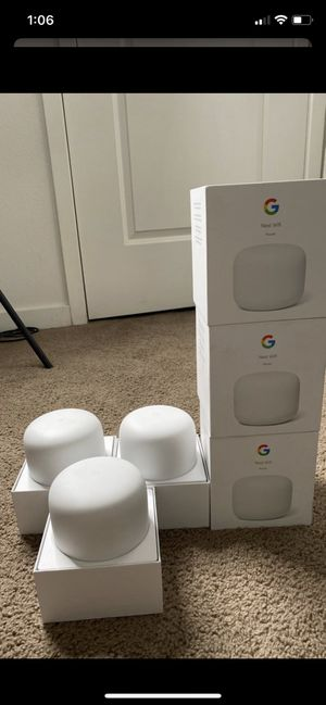 Google nest WiFi router for Sale in Oxnard, CA