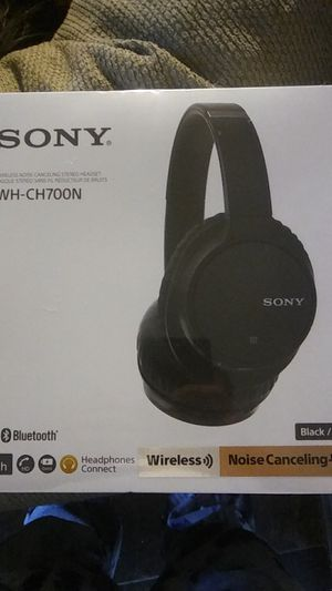 Sony WH-CH700N WIRELESS HEADPHONES BRAND NEW for Sale in Joint Base Lewis-McChord, WA