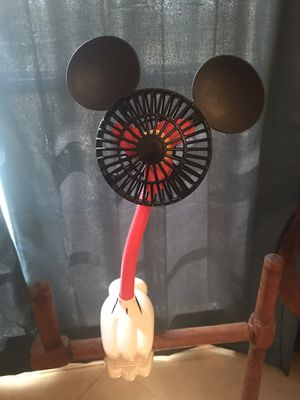 Mickey Mouse stroller fan for Sale in Cape Coral, FL