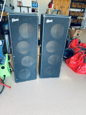 """Gibson GPA-100 speaker speakers 10"""" empty cabinets box boxes for Sale in Roosevelt, AZ"""