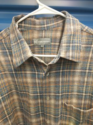Plaid blue size XL men's shirt flannel hickey Freeman for Sale in Takoma Park, MD