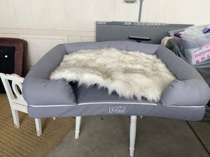 Paw.com bolster bed and topper for Sale in San Marcos, CA