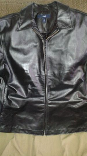 GAP leather coat new for Sale in St. Louis, MO