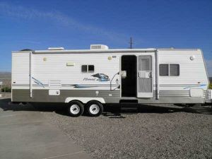 TRADE 2006 Skyline Nomad 30ft Pull Behind Trailer with Popout READ ENTIRE POST for Sale in Sacramento, CA