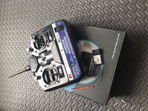 Flysky fs-ct6b transmitter and reciver for Sale in Wildomar, CA