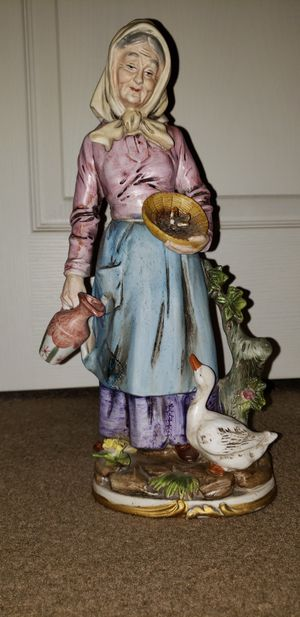 Antique porcelain statue for Sale in Auburn, WA