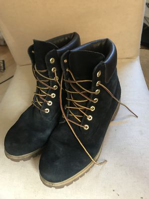 Men's Black Timberland shoes Size 10 for Sale in Seattle, WA