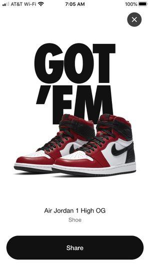 Jordan 1 satin red for Sale in Los Angeles, CA