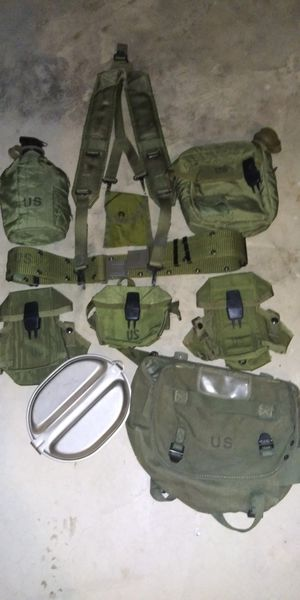 Vintage U.S. Army Field Gear for Sale in Shorewood, IL