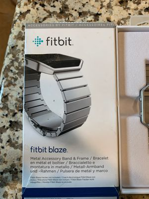 Fitbit Blaze metal band for Sale in City of Industry, CA