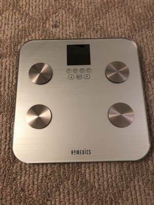 HoMedics 531 HealthStation Bodyfat Bathroom Scale for Sale in Los Angeles, CA
