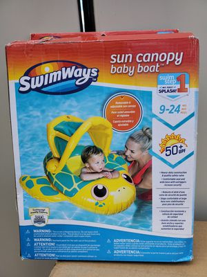 Sun canopy baby boat for Sale in Denver, CO