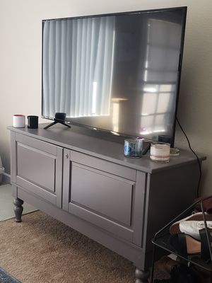 Gray tv stand for Sale in Chandler, AZ