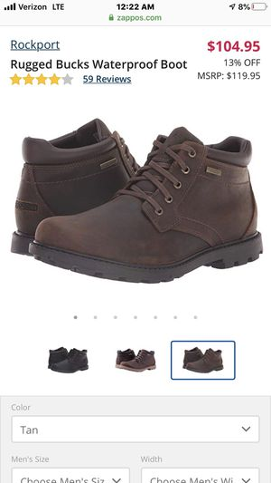 Men's rockport boots size 11.5 for Sale in Staten Island, NY
